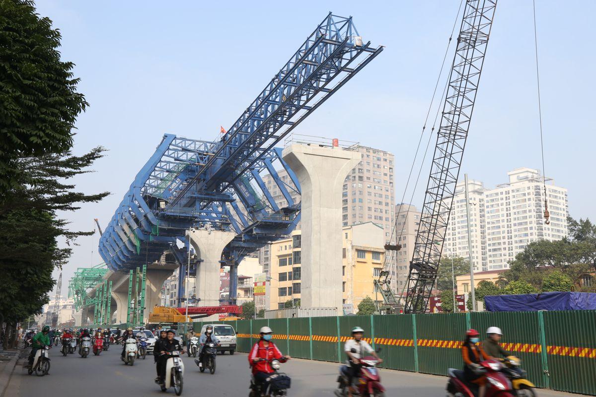 Her brukes NRS-utstyr på 5,8 kilometer lange Hanoi 2nd Ring Road i Vietnam. Foto: NRS