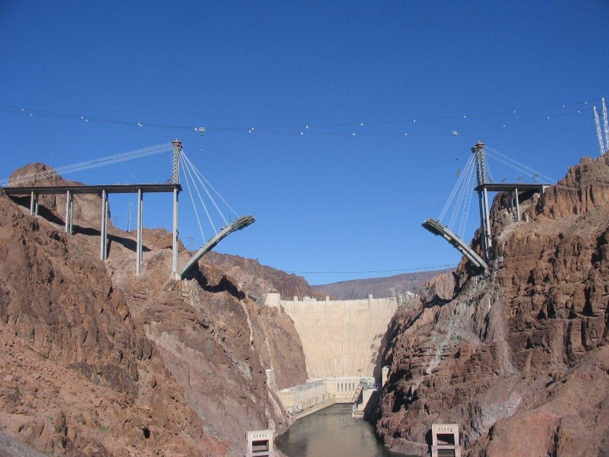NRS Formtraveler er blant annet brukt på Hoover Dam Bridge i USA. Foto: NRS