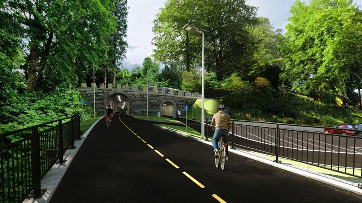 Illustrasjon: Bybanen Utvikling
