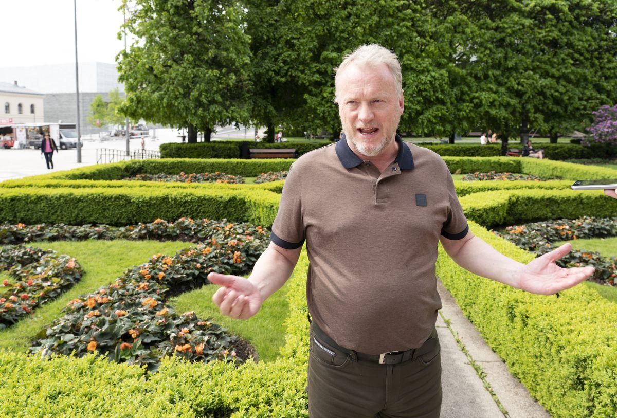 Byrådsleder Raymond Johansen (Ap) i Oslo. Foto: Gorm Kallestad / NTB