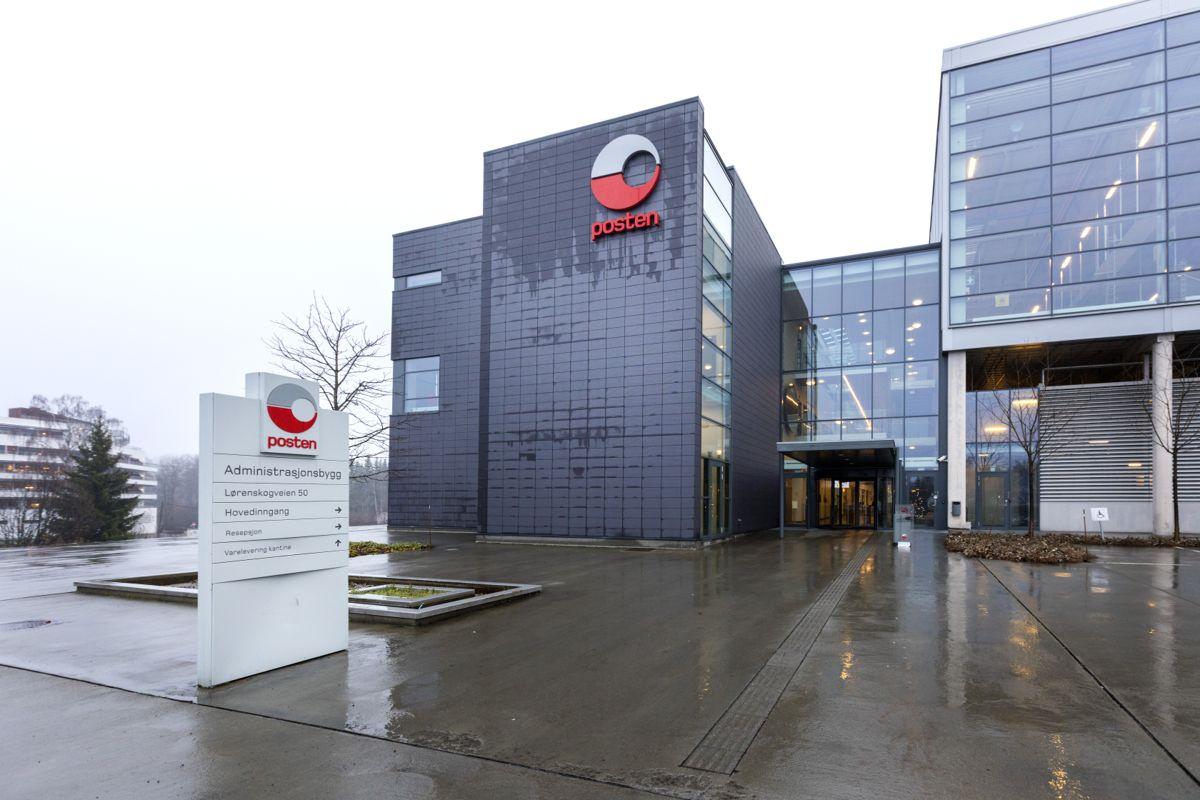 Postens Østlandsterminal på Lørenskog utenfor Oslo skal bygges ut med 6.000 kvadratmeter. Foto: Gorm Kallestad / NTB