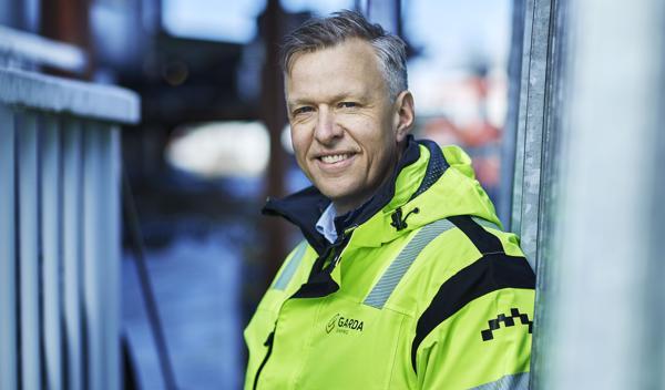 Administrerende direktør i Garda Sikring, Jon Ola Stokke. Foto: Garda Sikring