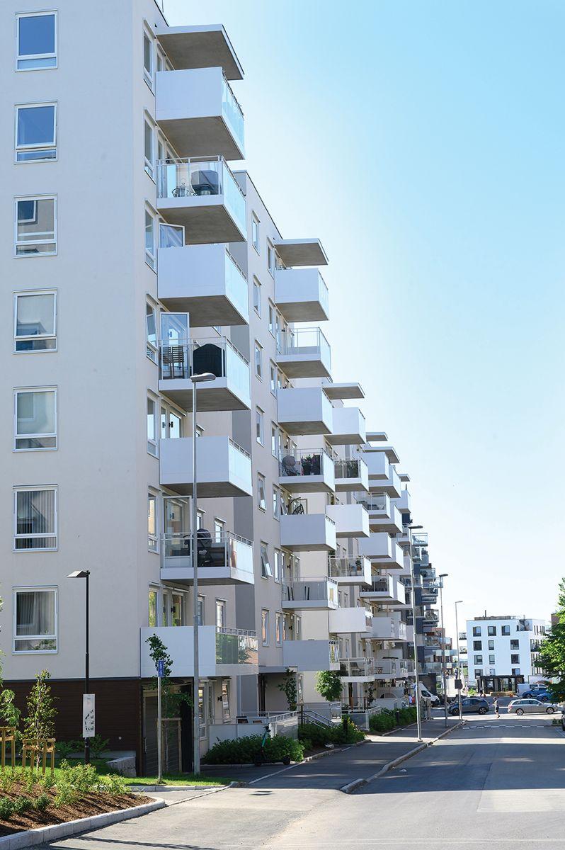 Gartnerkvartalet på Løren, 4.6.2021. Foto: Trond Joelson, Byggeindustrien