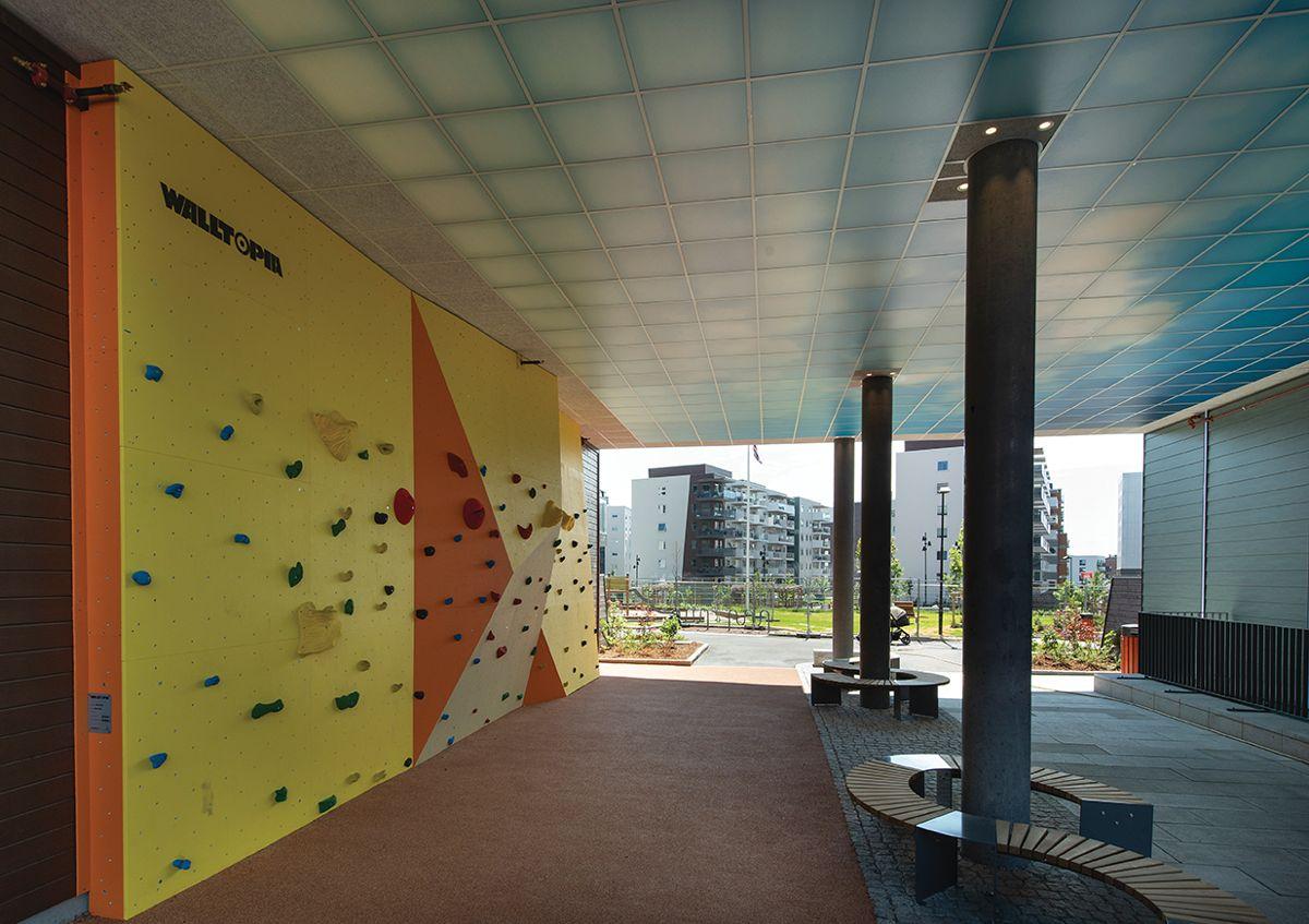 Gartnerkvartalet på Løren, 8.6.2021. Foto: Trond Joelson, Byggeindustrien