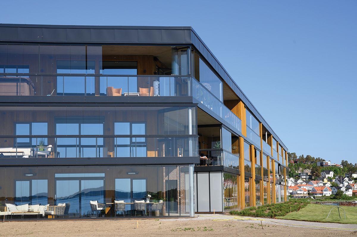 Innseilingen 2 på Jarlsø 3.6.2021. Foto: Trond Joelson, Byggeindustrien