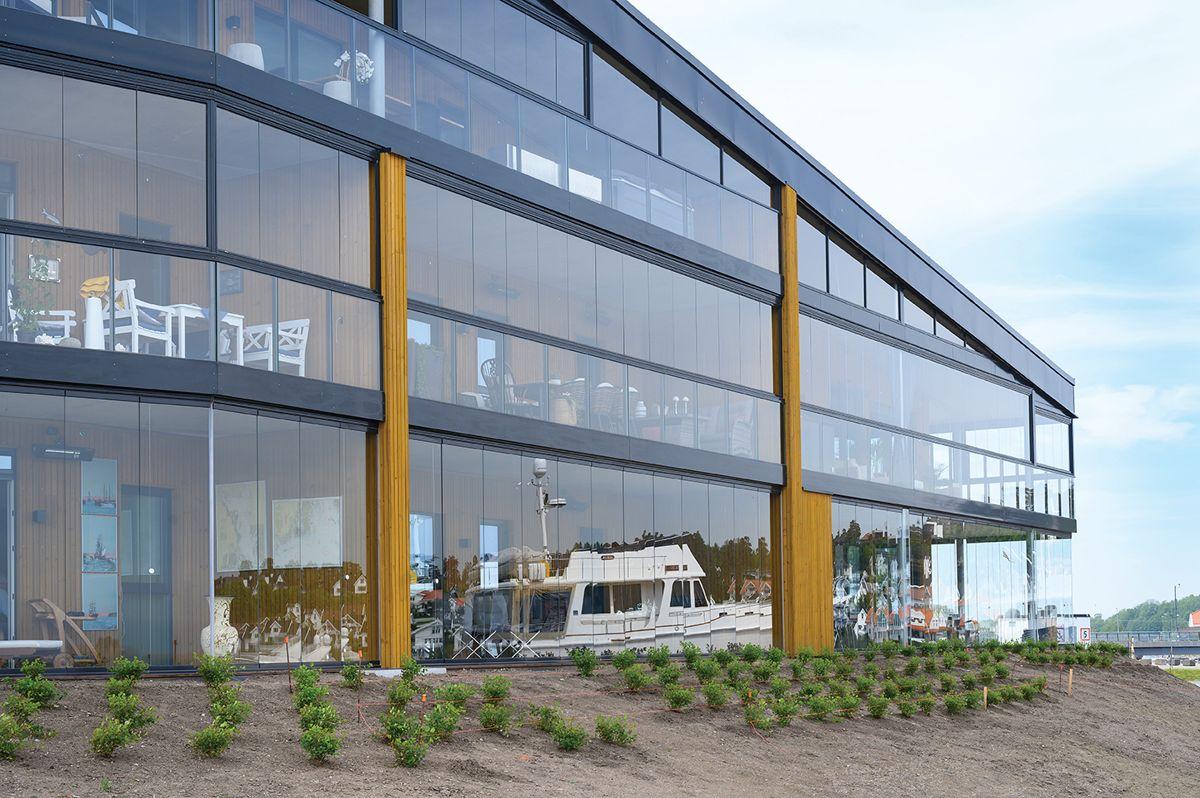 Innseilingen 2 på Jarlsø 31.5.2021. Foto: Trond Joelson, Byggeindustrien