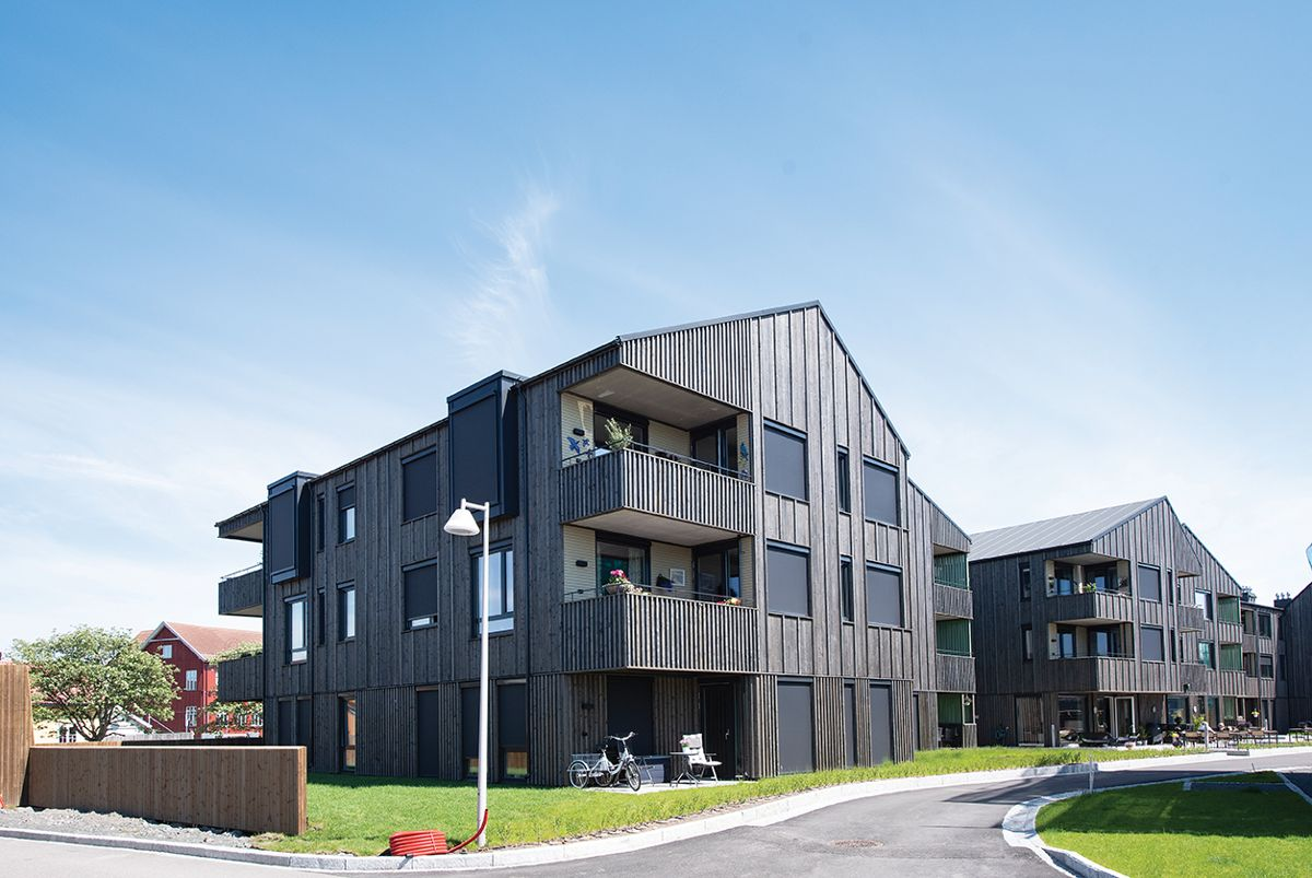 Otium på Saltbrygga i Larvik, 31.5.2021. Foto: Trond Joelson, Byggeindustrien