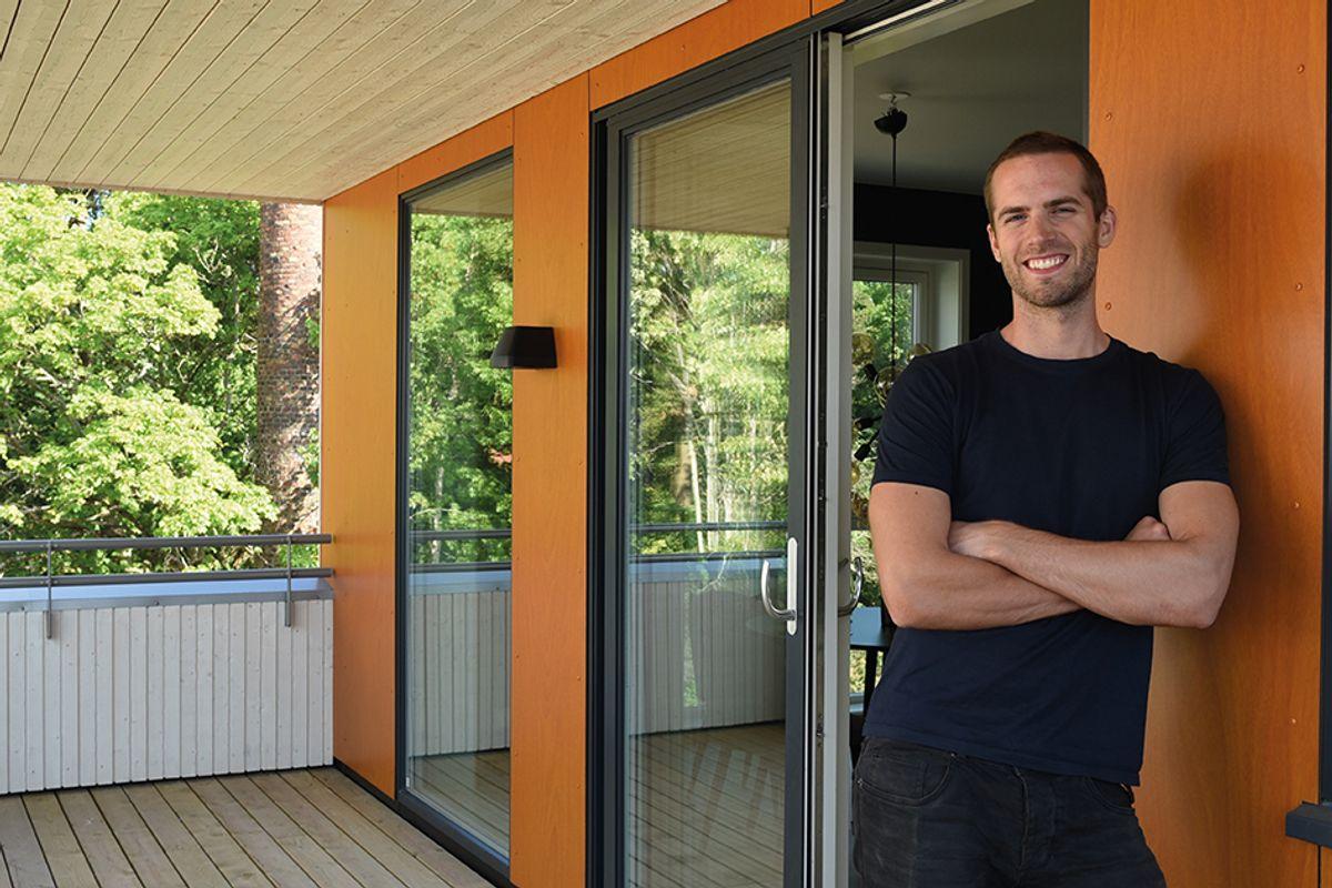 Veidekkes prosjektleder Audun Pedersen.