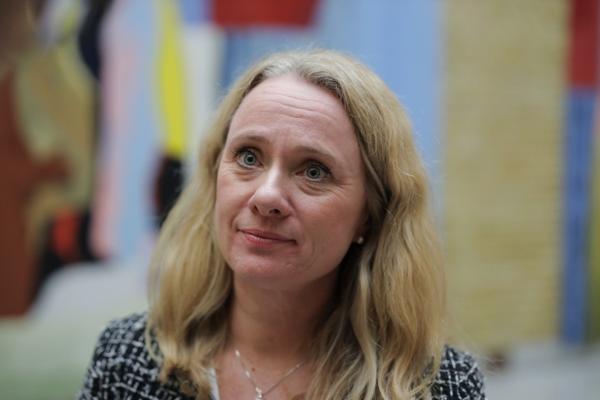 Tidligere arbeids- og sosialminister Anniken Hauglie blir NHO-sjef Ole Erik Almlids stedfortreder. Foto: Ørn E. Borgen / NTB