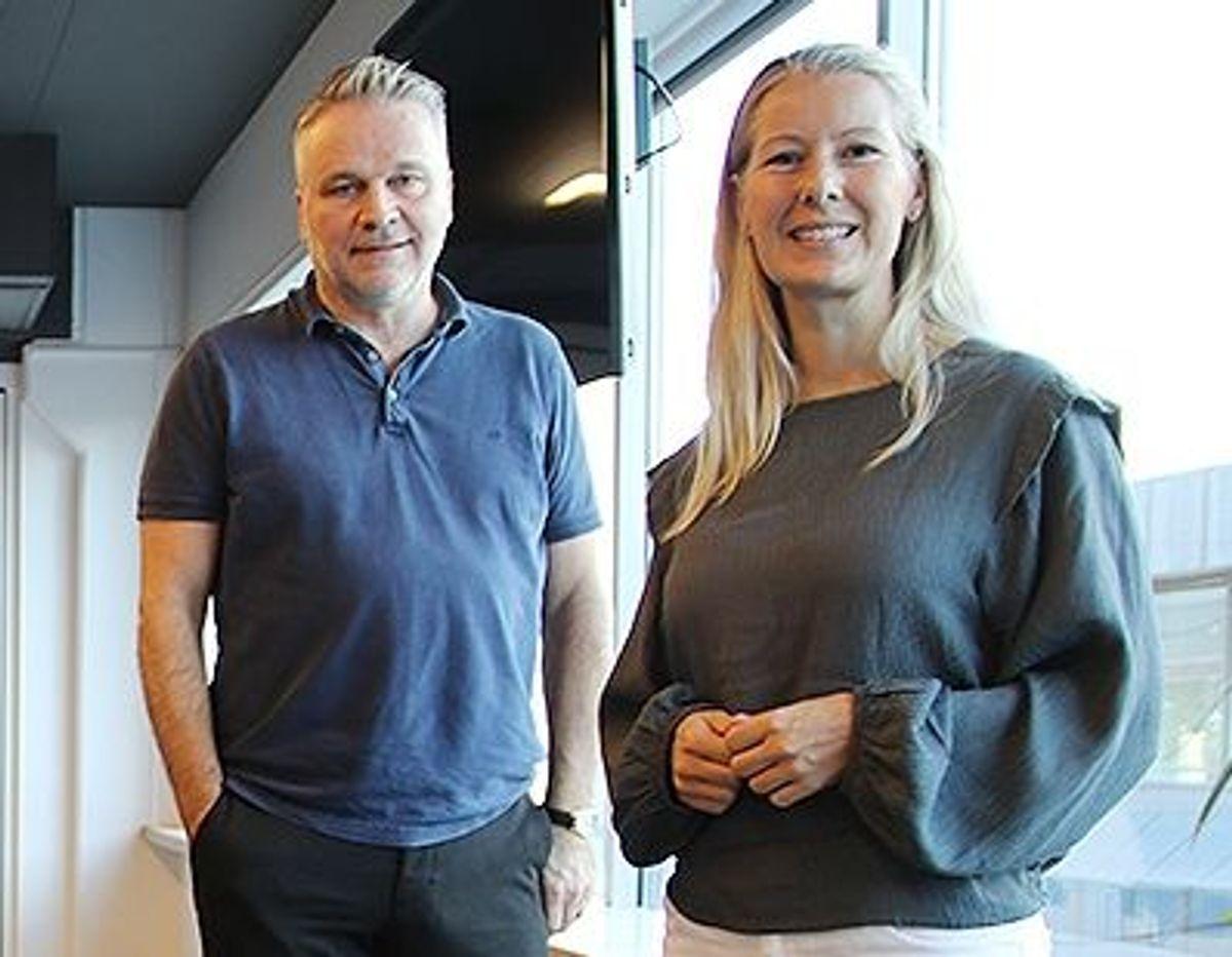 Hege Njå Bjørkmann og Christian Altmann