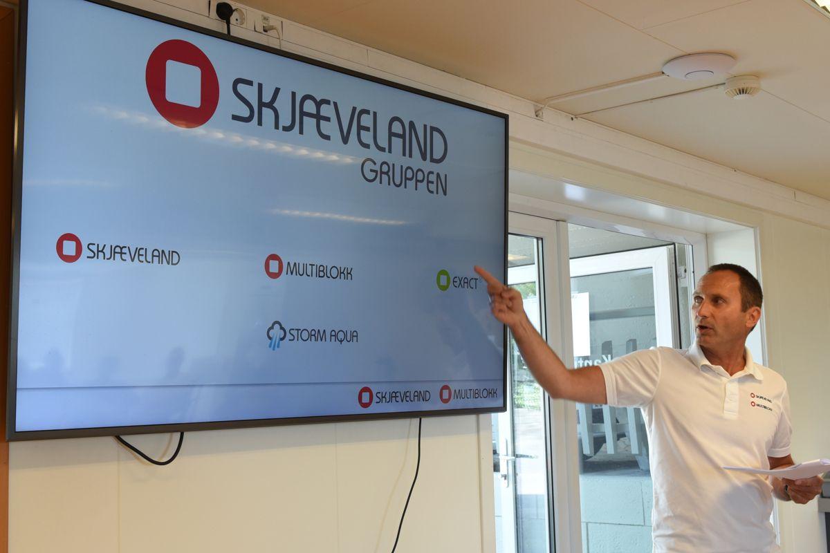 Daglig leder Rune Egeland. Foto: Skjæveland Gruppen