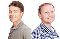 Kåre Hansen (t.v.) og Leif Jarle Gressgård. Foto: NORCE