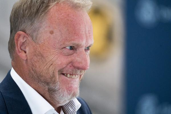 Raymond Johansen (Ap) blir bedt om å fortsette som byrådsleder i Oslo. Foto: Terje Pedersen / NTB