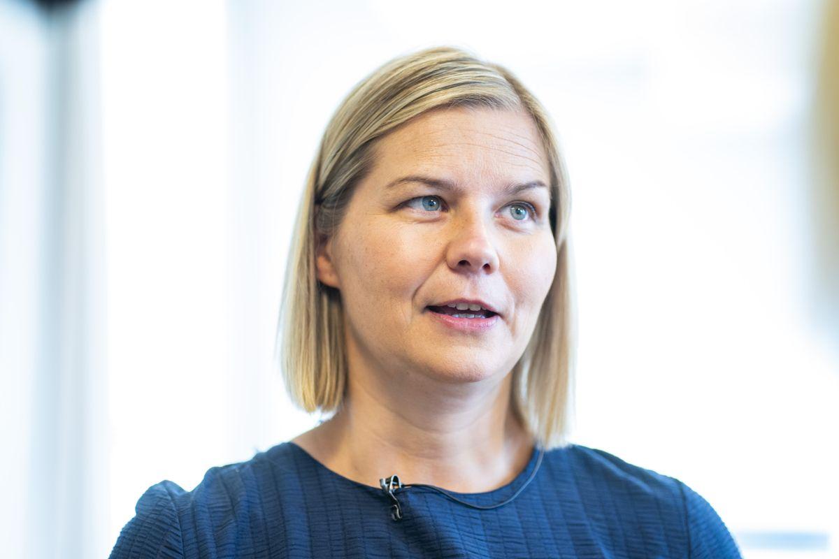 – Vi har utformet en modell som gir fylkene et handlingsrom til å lage en ordning for fritt skolevalg som passer sitt fylke, sier kunnskapsminister Guri Melby (V). Foto: Håkon Mosvold Larsen / NTB