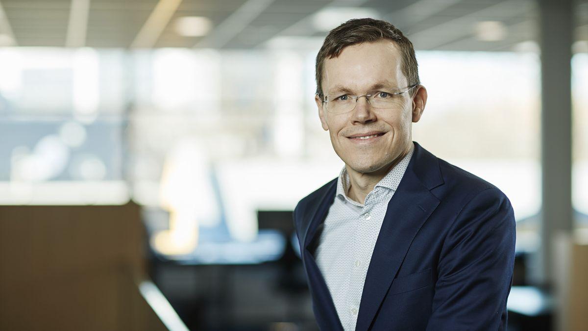 Jo Mortensen, konserndirektør for forretningsområdet Teknologi, Innovasjon og Grønn forretningsutvikling i Skanska Norge. Foto: SKanska