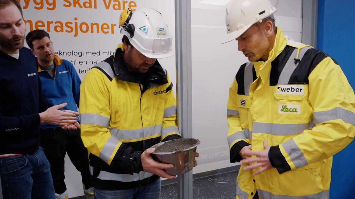 Betong Øst og Leca Norge har sammen tatt tak i pumpeutfordringene som har vært en flaskehals for bruk av Leca lettklinker. Foto: Betong Øst