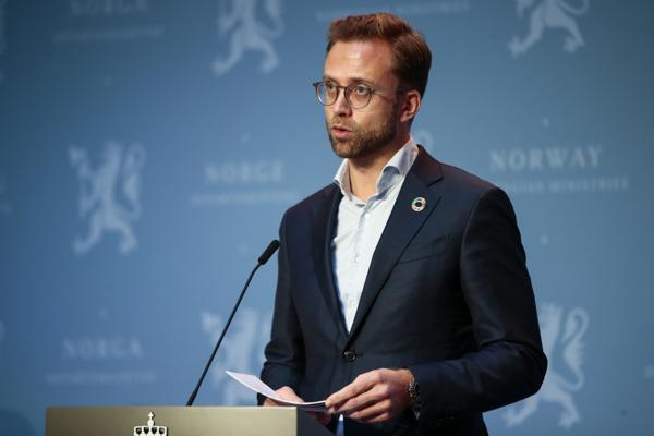 Kommunal- og moderniseringsminister Nikolai Astrup (H). Foto: Jil Yngland / NTB