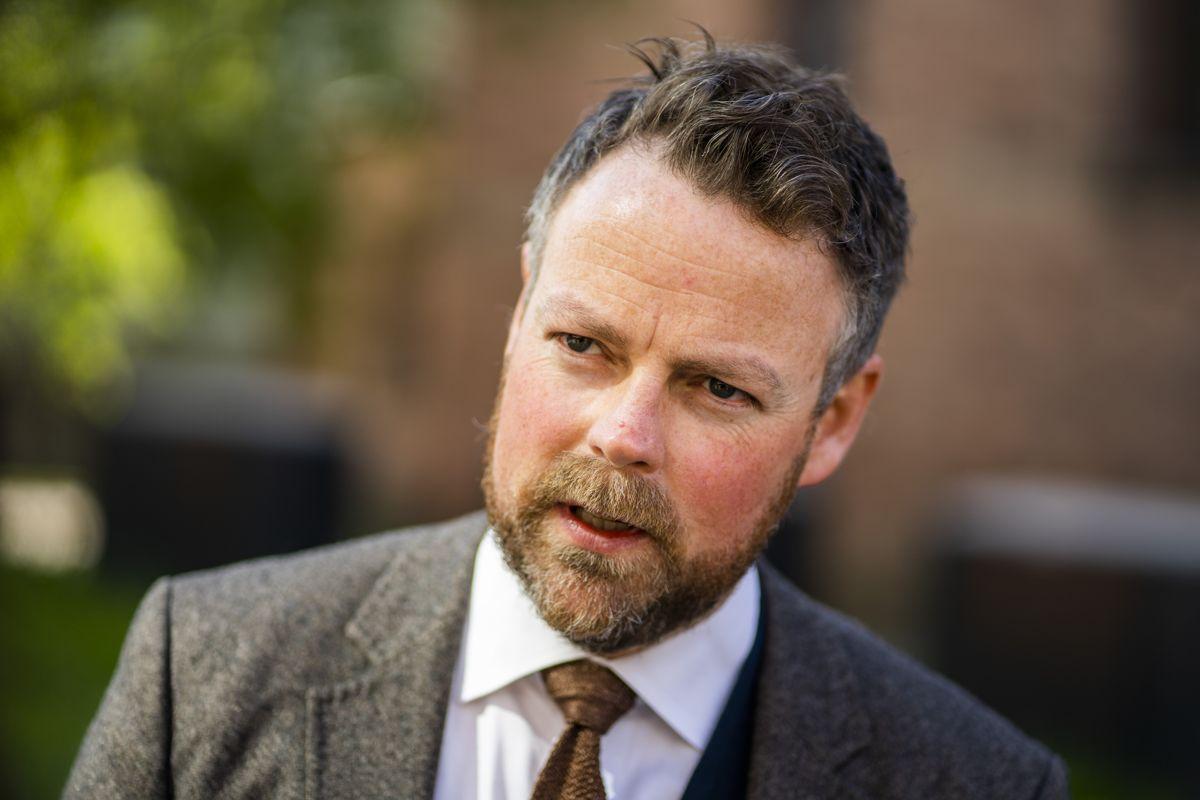 Arbeidsminister Torbjørn Røe Isaksen (H). Foto: Håkon Mosvold Larsen / NTB