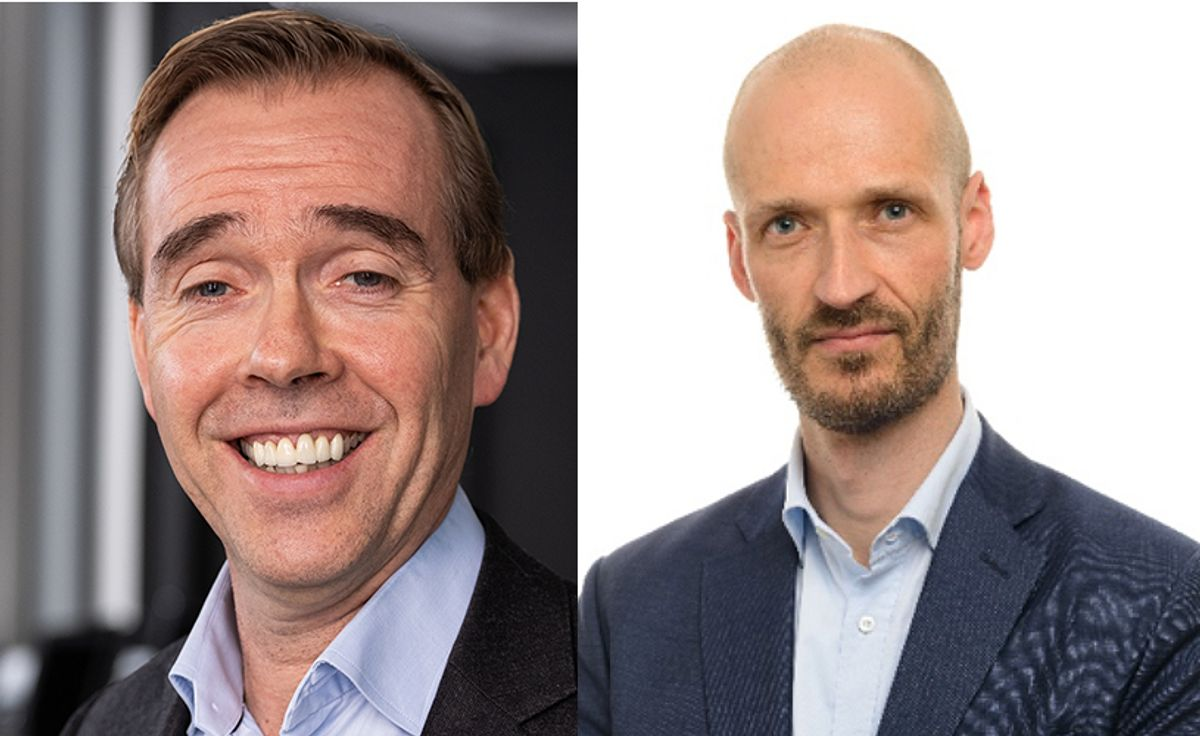 Halvard Kilde (t.v.) og Alexander Smidt Olsen. Foto: Metier OEC
