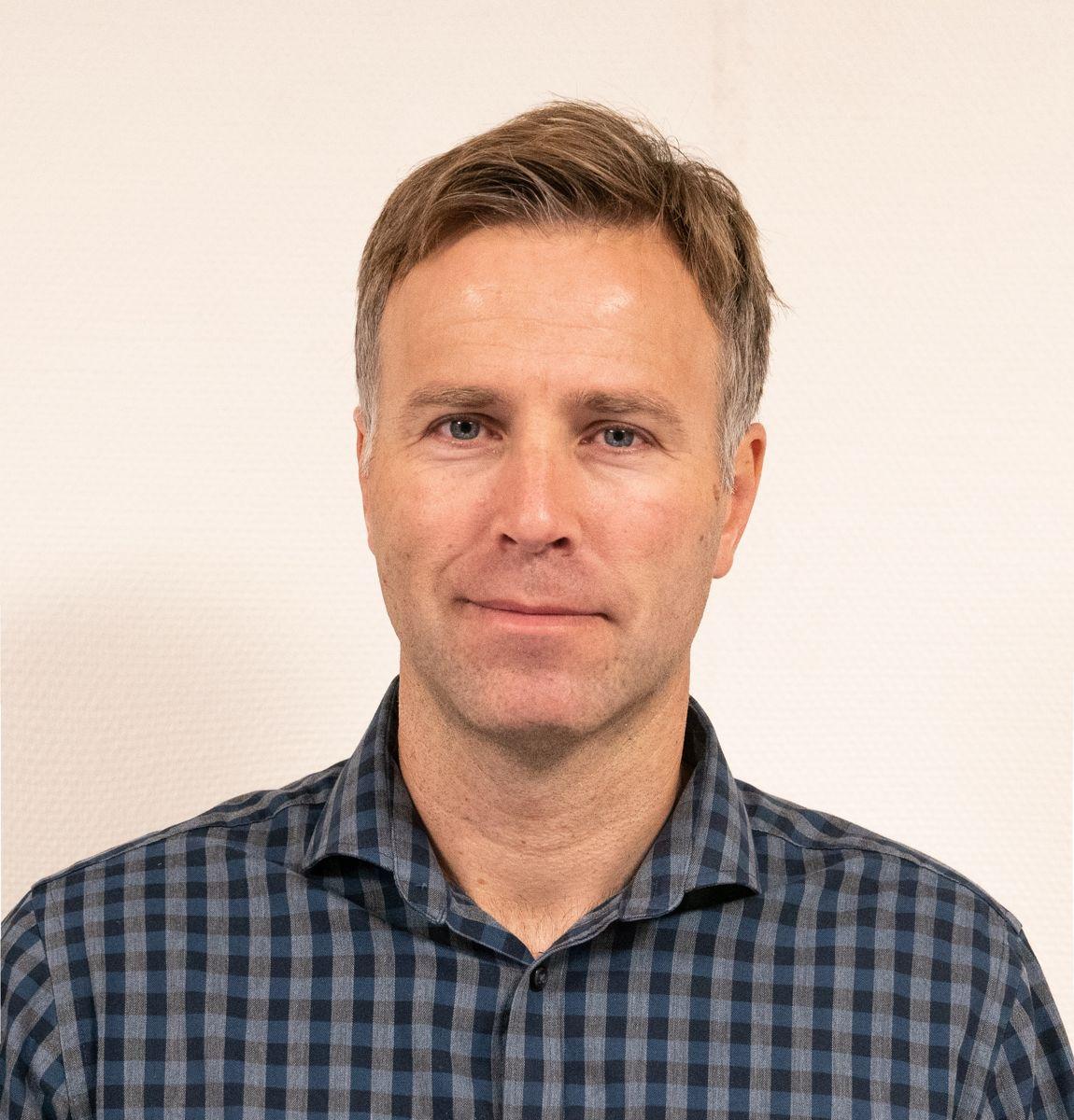 Frode Myrmel, produktsjef i BMI Norge. Foto: BMI
