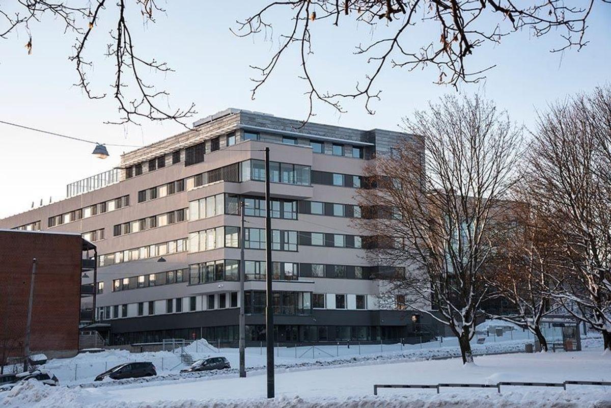 Det er Petter Bogen arkitektkontor som har tegnet bygget. Foto: Trond Joelson