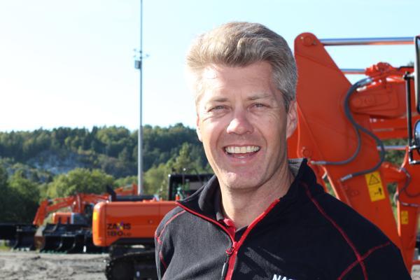 Lars Engmark ser frem til å få de nye maskinene til Norge.
