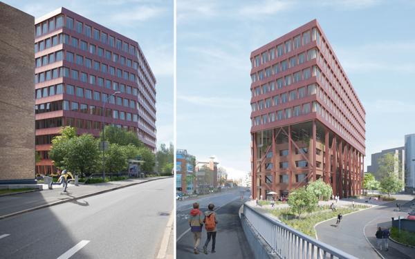 Illustrasjon: Skanska/Grape Architects)
