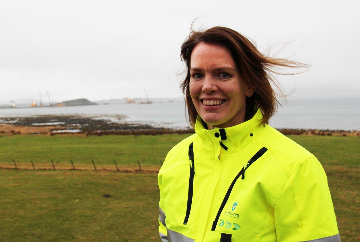Prosjekttleder Marianne Nærø i Møre og Romsdal fylkeskommune.