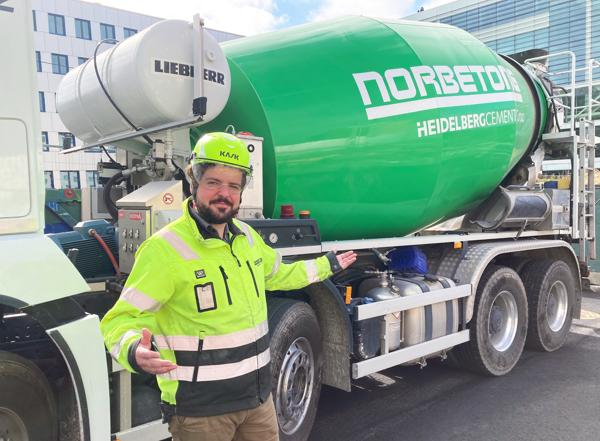 Regionssjef i NorBetong Magnus Gade Skjeggerud. Foto: NorBetong