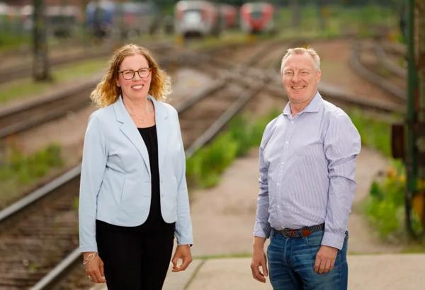 Veronica Lindgren og Tony Strandberg. Foto: Sten Jansin