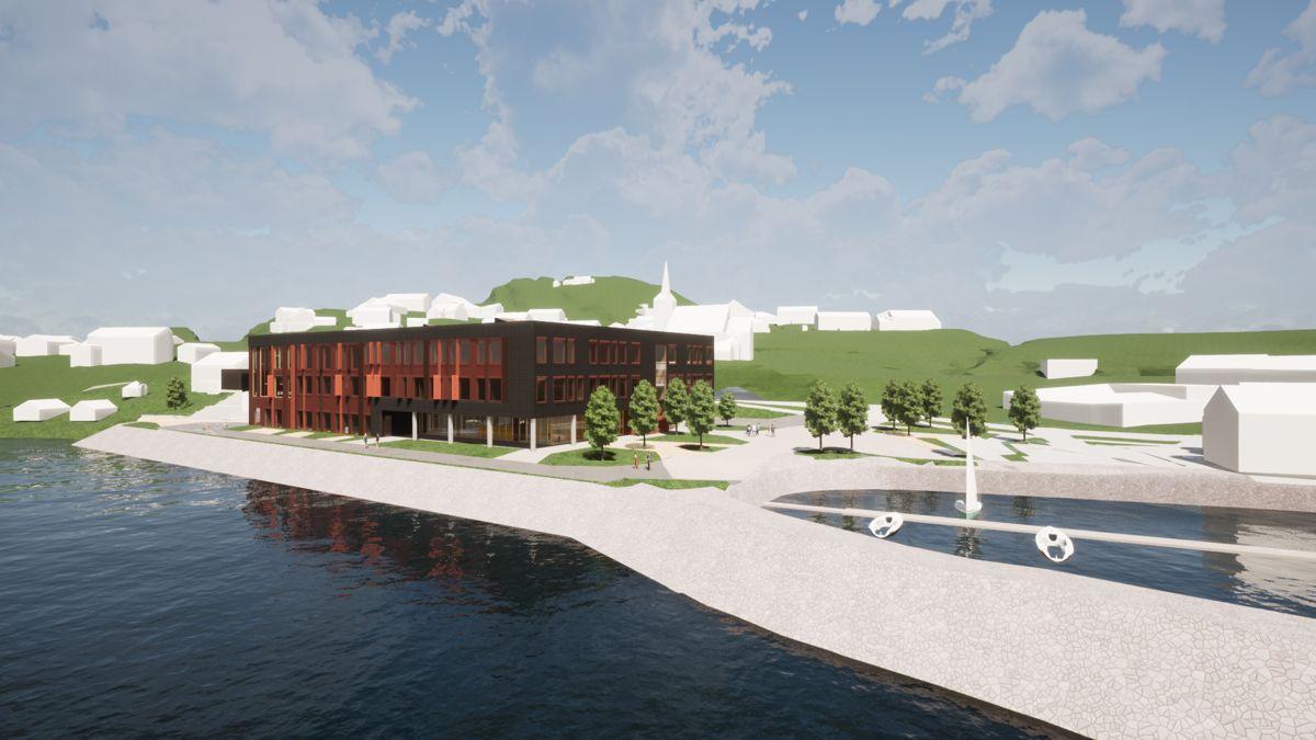 Ruta Entreprenør skal bygge Johan Bojer videregådende skole i Vanvikan.