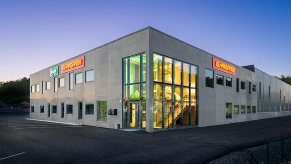 El-proffens kjedekontor i Kristiansand. Foto: El-proffen