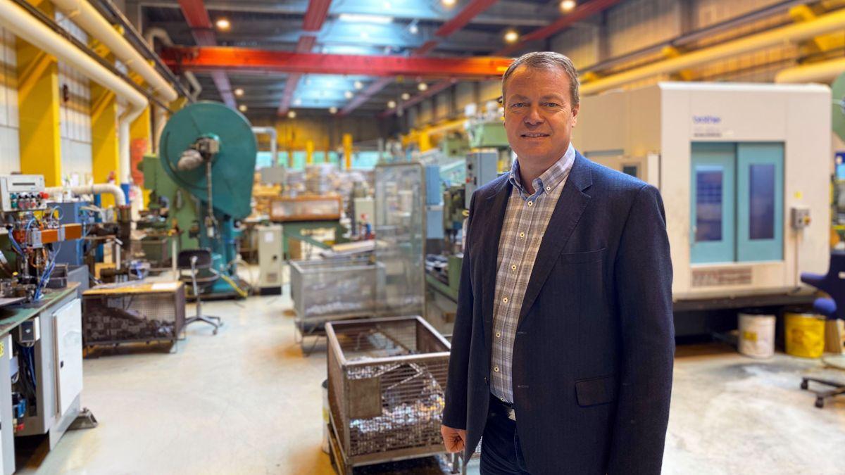 Administrerende direktør Terje Bøe. Foto: Spilka Industri