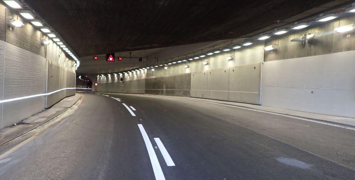 Slik ser den nyrehabiliterte tunnel ut. Foto: Espen Børresen, Statens vegvesen