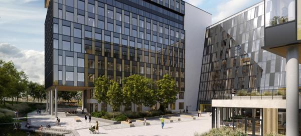 Construction City på Ulven. Illustrasjon: 3D Estate
