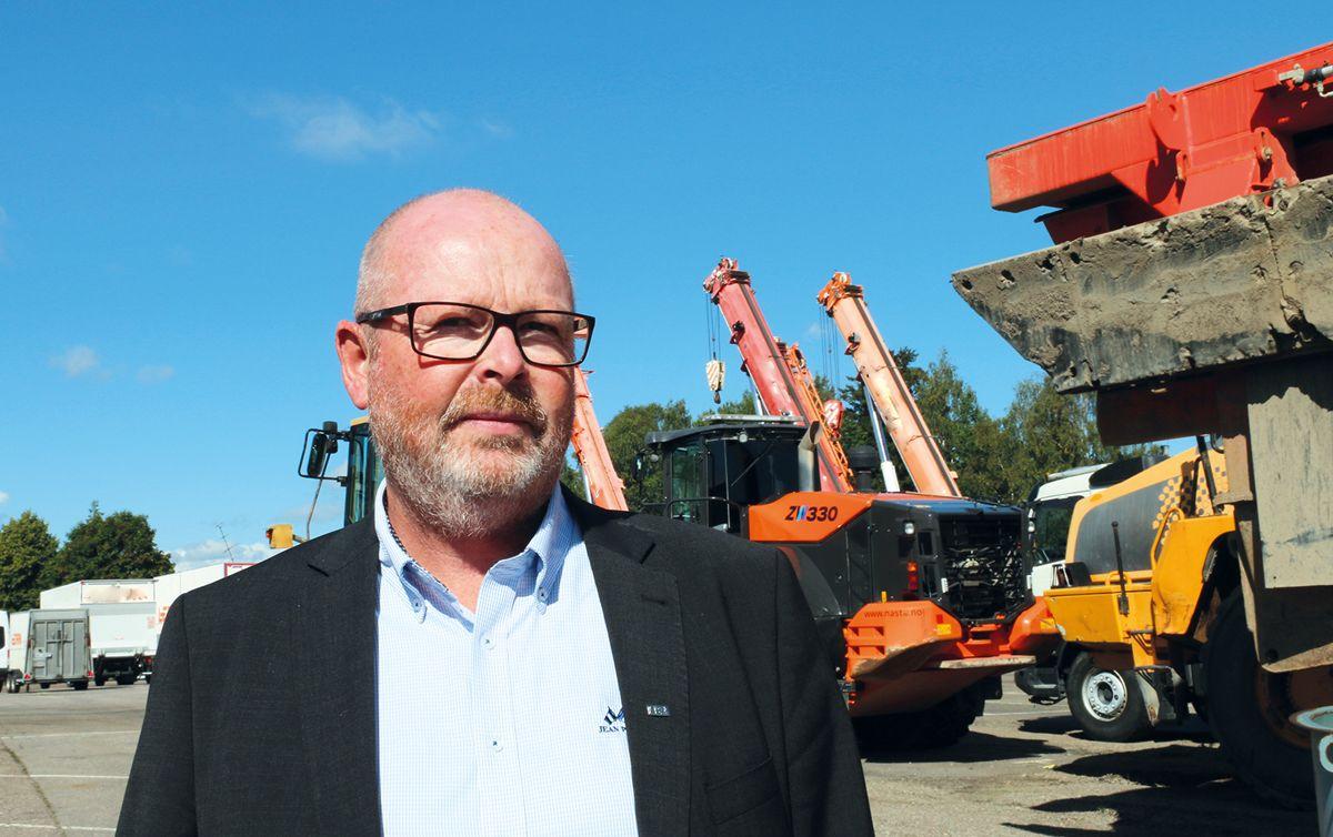 Direktør Thormod Hansen i EBA TeVeBusk. Foto: Ådne Homleid