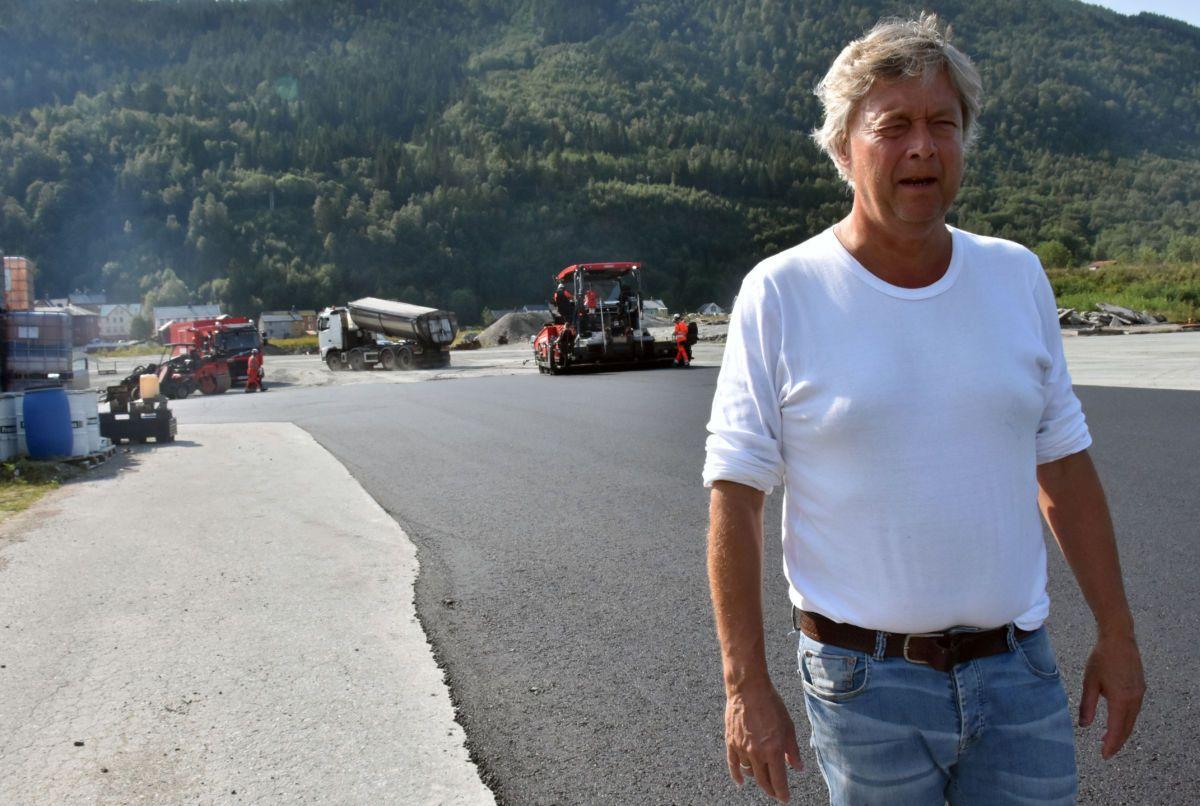 Terje Talgø, konsernsjef i Talgø. Foto: Talgø