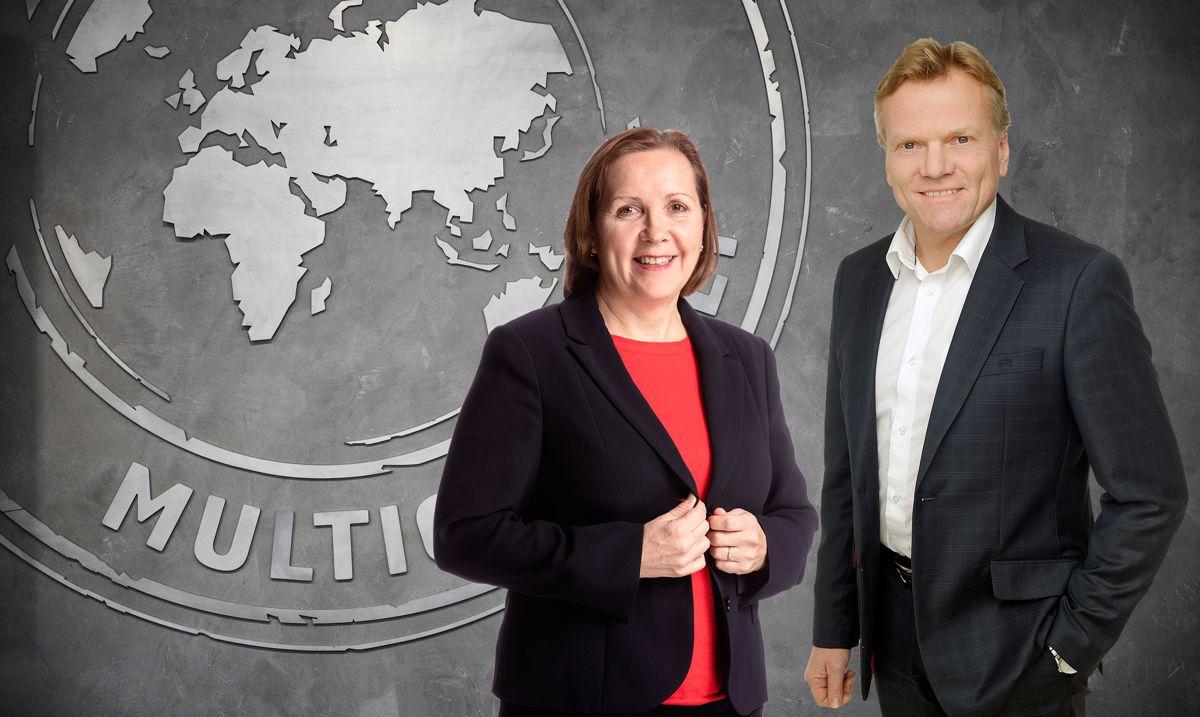 Grethe Bergly og Arne Jorde. Foto: Multiconsult