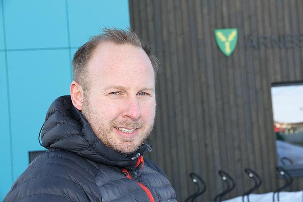 Anleggsleder Atle Emilsen kan se tilbake på en rask og effektiv byggetid. - Det har blitt en flott barnehage, sier han.