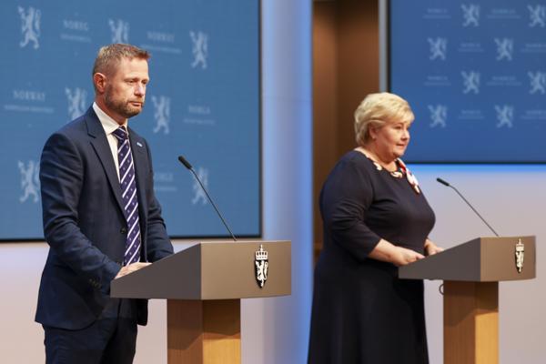 Regjeringen har blitt kritisert for at Norge ikke var bedre forberedt på koronapandemien. Foto: Beate Oma Dahle / NTB