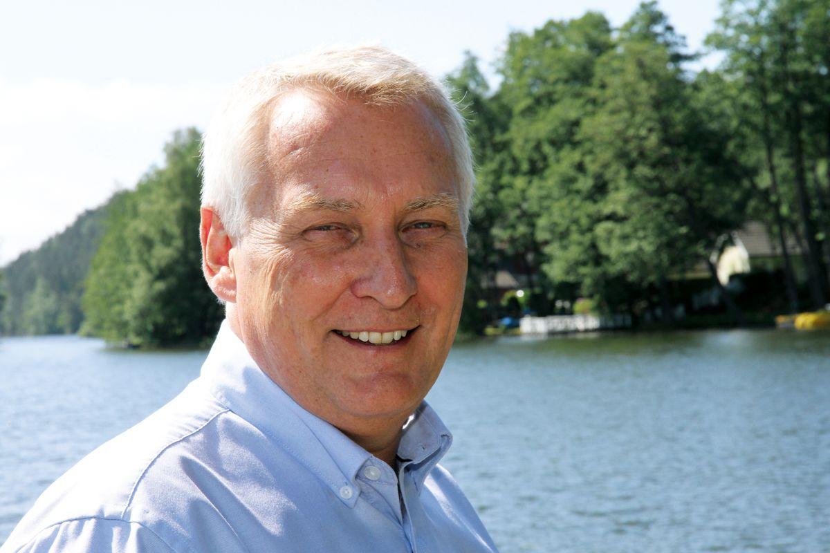 Arne Knaben overtok som Managing Director Volvo Maskin i Norge i fjor høst. Foto: Truls Tunmo