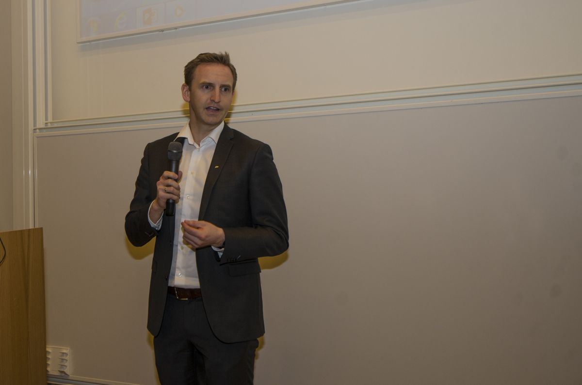 Konserndirektør for bygg i AF Gruppen, Henning Olsen.