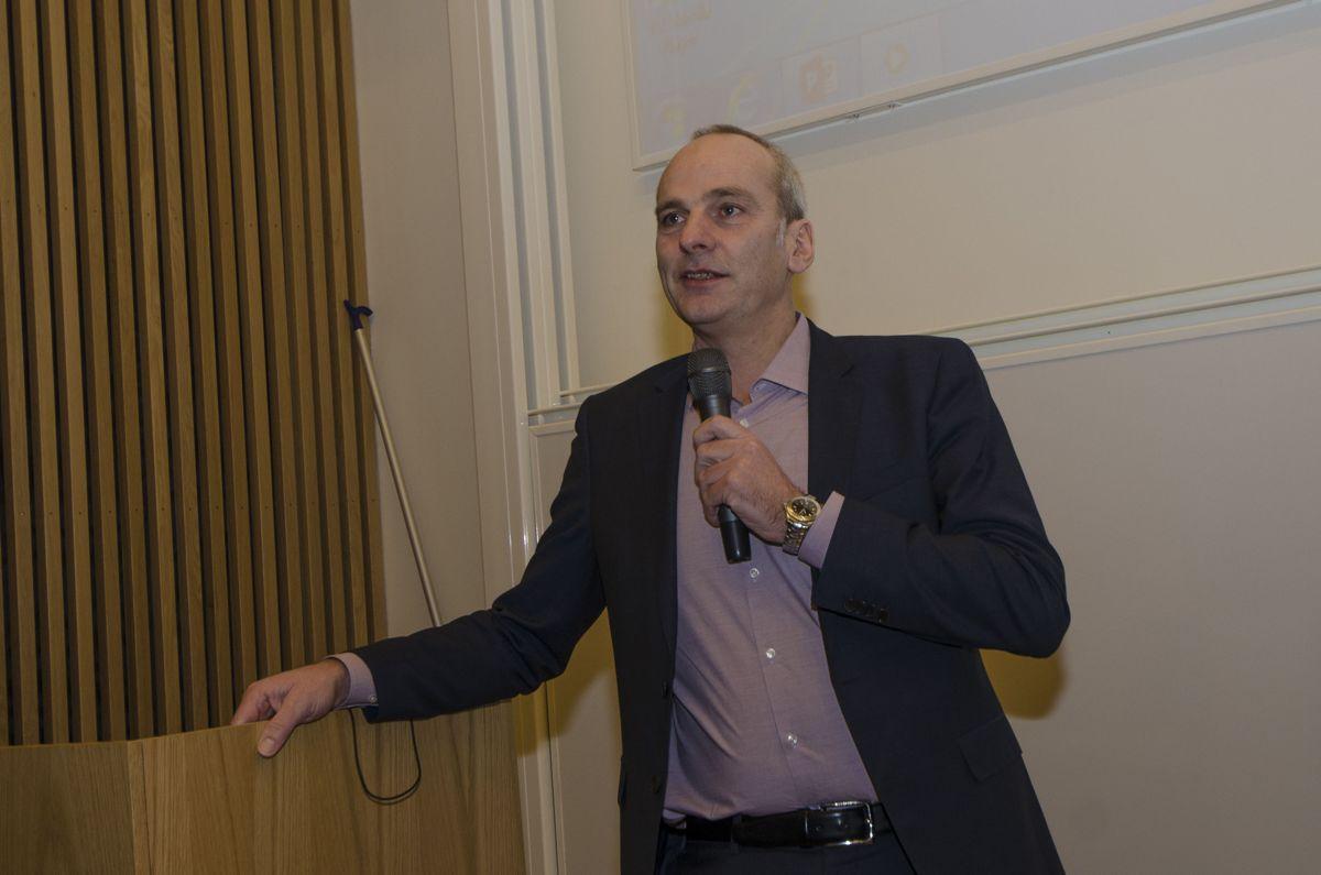 Styreleder i EBAO og administrerende direktør i Peab, John Ivar Mejlænder-Larsen.