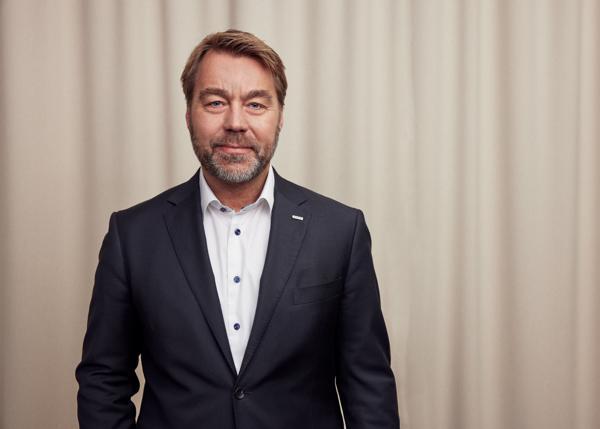 Konsernsjef Jesper Göransson i Peab. Foto: Mattis Barda