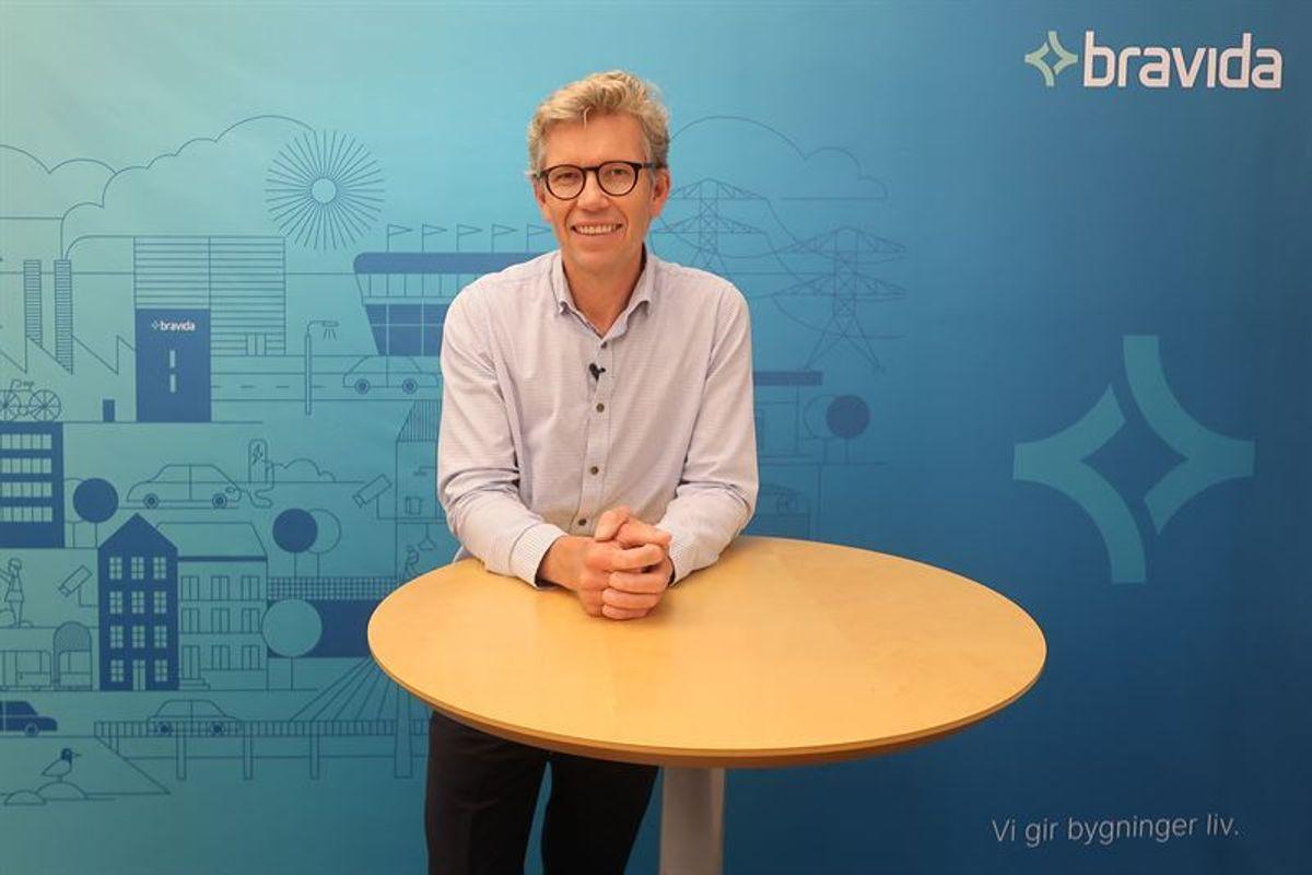 Tore Bakke, administrerende direktør i Bravida Norge. Foto: Bravida