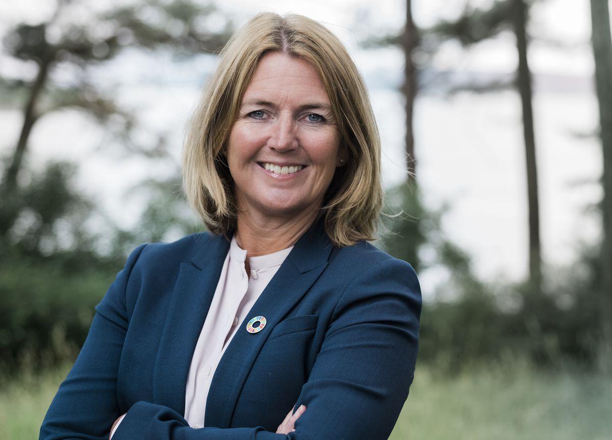 – Etter en periode med lavere aktivitetsnivå, opplevde vi bedring i alle markeder i andre kvartal, sier administrerende direktør Grete Aspelund i Sweco Norge. Foto: Sweco Norge