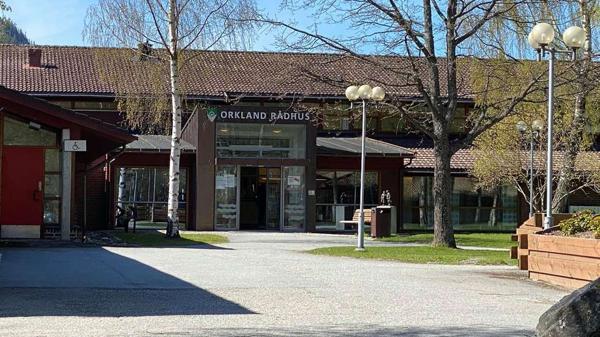 Orkland rådhus. Foto: Orkland kommune