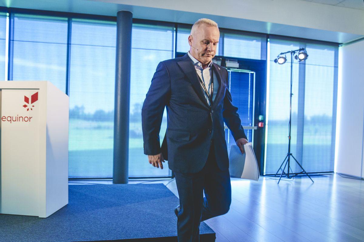 Konsernsjef Anders Opedal i Equinor kan se tilbake på et andre kvartal med god resultatvekst. Foto: Stian Lysberg Solum / NTB