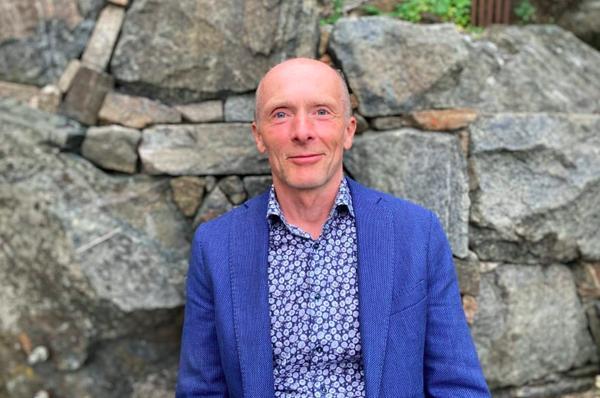 Arne Scott begynner som selskapsadvokat i Norconsult. Foto: Privat