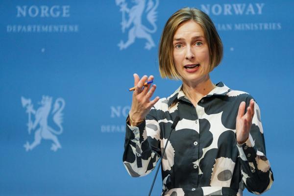 Næringsminister Iselin Nybø (V). Foto: Gorm Kallestad / NTB